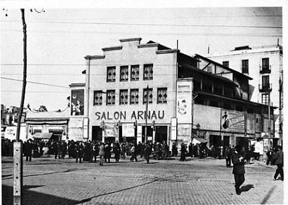 """macro gran barcelona fotografia del  libro """" Teatres de Barcelobna """""""