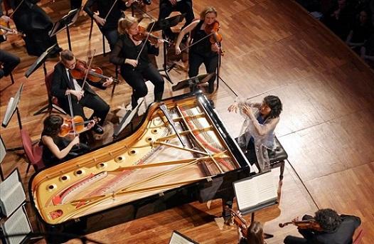 ICULT  de Palau 100 amb Mitsuko Uchida i la Mahler Chamber Orchestra al Palau de la Musica Catalana FOTO Antoni Bofill